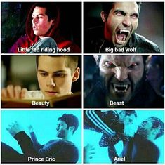 Teen Wolf Quotes, Teen Wolf Funny, Teen Wolf Memes, Teen Wolf Boys, Teen Wolf Dylan, Prince Eric And Ariel, Sterek Fanart, Teen Wolf Ships, Dylan Obrian