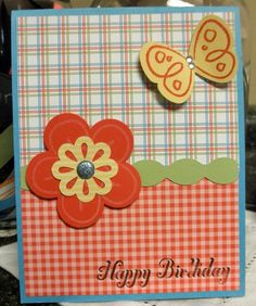 stampin up birthday card ideas   Stampin Up birthday card   Card ideas
