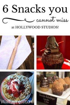 6 Snacks You Cannot Miss at Hollywood Studios! #Disney #DisneyWorld #DisneyTips