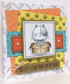 Made for Die Cutting Essentials Magazine using MFT I Knead You Stamps & Dies.