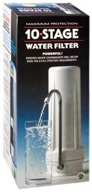 10 Stage Water Filter by New Wave Enviro Products - Buy 10 Stage Water Filter 1 Filter at