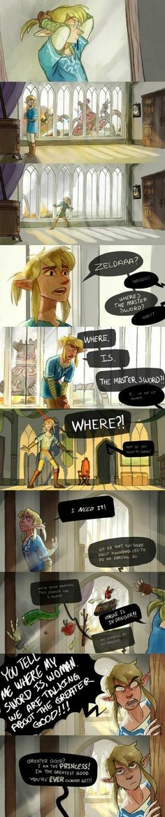 I'm laughing so hard at this.   The Legend of Zelda meets The Incredibles.