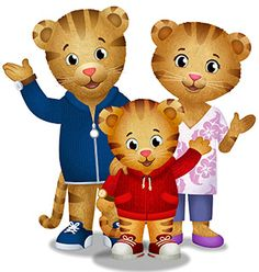 Daniel Tiger is so cute! I watch it like everyday with my baby brother. Because when the t.v is on it is kind of hard not to watch it.