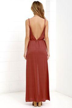 Fresh Air Burnt Orange Maxi Dress at Lulus.com!