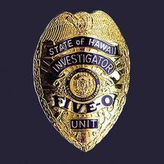 #H5O: State of Hawaii Five-0 Badge