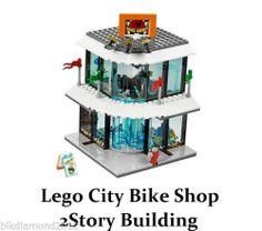 Lego City 2 Story Bike Shop Building Shopping Plaza Brand New Modular Mini MM5 673419145350 | eBay