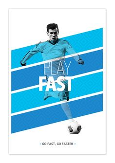 Play like a football master on Behance