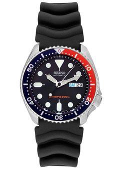 "AHW009- Enhanced ""Pepsi"" Seiko SKX009 Hacking Handwinding"