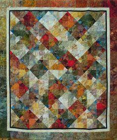 Sedona Circles, Quilt Inspiration: California Fall Quilt Show: Part 4