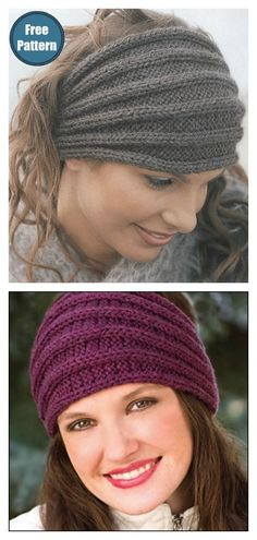 knit headband pattern The Kerchief Headband Free Knitting Pattern is an easy project to work up. Pick out some favorite colorways from your stash and get started. Knitting Blogs, Arm Knitting, Knitting For Beginners, Knitting Projects, Knitting Ideas, Beanie Knitting Patterns Free, Knitted Headband Free Pattern, Crochet Headbands, Fabric Headbands