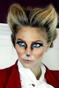 Be a foxy lady this Halloween with fox makeup. Try Ben Nye Products at http://crcmakeup.com