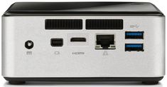 Intel NUC Barebones PC kit. Want to build a customized home PC or HTPC? These are the perfect starting point!