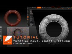 Tutorial Panel Loops - Zbrush - YouTube