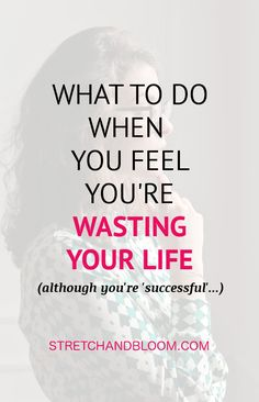 You can be successful and still feel lost in life. This free training will help find yourself again. # selfhelp You can be successful and still feel lost in life. This free training will help find yourself again. How To Better Yourself, Live For Yourself, Finding Yourself, E Learning, Pack N Play, Feeling Lost, How Are You Feeling, Self Development Books, Personal Development