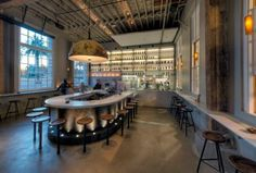Hardwater, San Francisco....love this space, all the raw materials