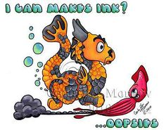 """Share some giggles with this Little Wings Dragons! """"I Can Makes Ink?"""" by Carla Morrow $24.95 Bowser, Disney Characters, Fictional Characters, Wings, Dragons, Kite, Kites, Feathers, Fantasy Characters"""