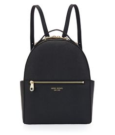 Black Leather Backpack for Women - West 57th | Henri Bendel