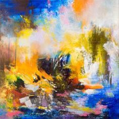 "Saatchi Art Artist Rikka Ayasaki; Painting, ""Passions 113 (acrylic, New creation!)"" #art"