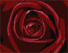 Rose Petals Needlepoint Canvas by Pepita by pepitaneedlepoint, $39.95