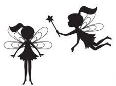 Silhouette Fairies Clip Art | Meylah