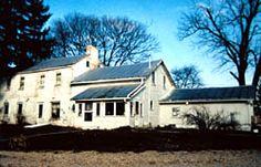 Reuben Benedict House, Marengo, Ohio, used in the underground railroad