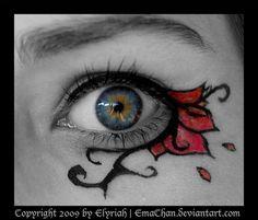 Gothic MakeUp .:11:. by Elyriah.deviantart.com on @deviantART