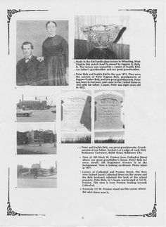 Photos of Peter Eugene Belz, Sr., wife Sophia Kiel including grave sites, neighborhood and possessions. All Family, West Virginia, Baltimore, The Neighbourhood, Father, Portrait, Photos, Kiel, Pai