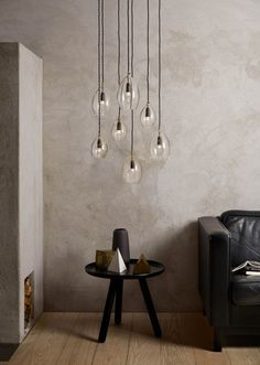 Unika lamps in two sizes by Nothern Lighting