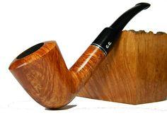 "BRIAR Tobacco Smoking pipe ""CORSAIR"" smooth, Limited Edition ++ Free GIFT"