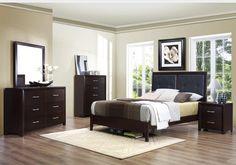 Homelegance Pell Nightstand Espresso L: W: H: Furniture Offers, Furniture, Platform Bedroom Sets, At Home Furniture Store, Platform Bedroom, Brown Bedroom, King Bedroom Sets, Bedroom Set, Classic Bedroom