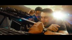 "Movie ""Battleship"" 2012 - Director: Peter Berg- A Universal Pictures Film. Taylor Kitsch as Alex Hopper. (Pôster)"