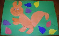 Znalezione obrazy dla zapytania ciekawe prace plastyczne w przedszkolu wiewiórka