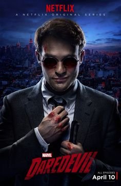 Charlie Cox gets bloodied as Matt Murdock in a new poster for Marvel's Daredevil on Netflix Marvel Comics, Films Marvel, Marvel Dc, Poster Marvel, Daredevil Tv Series, Marvel's Daredevil, Netflix Daredevil, Movie Posters, Actor