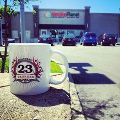 Healthy Planet in Etobicoke. #23degreesroastery #23drmug #coffee #etobicoke #fresh #local #ontheroad #GTA #delivery #toronto