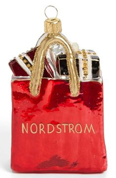 Nordstrom Shopping Bag Ornament