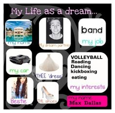 """My Life As A Dream"" by maxilicious ❤ liked on Polyvore featuring art"