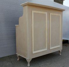 RAW MDF Reception Desk / Cash Desk , Salon, Retail - French Style Shabby Chic | eBay