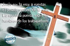 SEGUNDA ESTACIÓN: Jesús con la cruz a cuestas. El pesado madero de la crisis - Aleteia