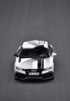 Audi demonstreert autonoom racen met RS7
