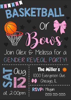 20 Basketball Gender Reveal Ideas Basketball Gender Reveal Gender Reveal Gender Reveal Party