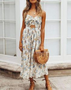 summer womens fashion which look hot 026199 Sexy Dresses, Casual Dresses, Summer Dresses, Midi Dresses, Fashion Outfits, Womens Fashion, Fashion Trends, Fashion Styles, Bali Fashion