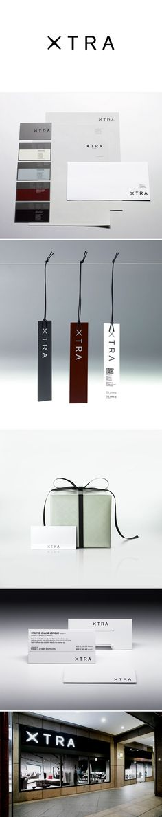 """""""Xtra"""" brand design and corporate identity 