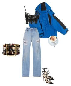 """""""Untitled #99"""" by evelines ❤ liked on Polyvore featuring Balenciaga, Emilio Pucci, Gianvito Rossi and Chanel"""