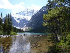 Mount Edith Cavell Lake, Jasper National Park