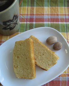 Di's Kitchen Notebook: Handmade Loaves - Bourbon & Nutmeg Pound Cake