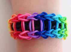 Das Rainbow Loom Leiter-Armband (deutsche Anleitung)
