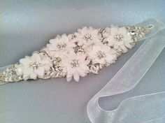 DALHIA Wedding Belt Bridal Accessory Beaded Sash | Inspirations