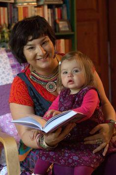 Dr. Kádár Annamária és kislánya, Lilla