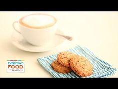 Chocolate Toffee Oatmeal Drop Cookies - Everyday Food with Sarah Carey