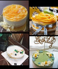 Mango Mousse Cake, Vanilla Cake, Birthday Cake, Desserts, Food, Tailgate Desserts, Deserts, Birthday Cakes, Essen